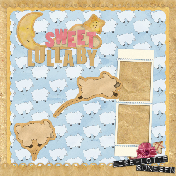 Sweet Lullaby - Quick Pages