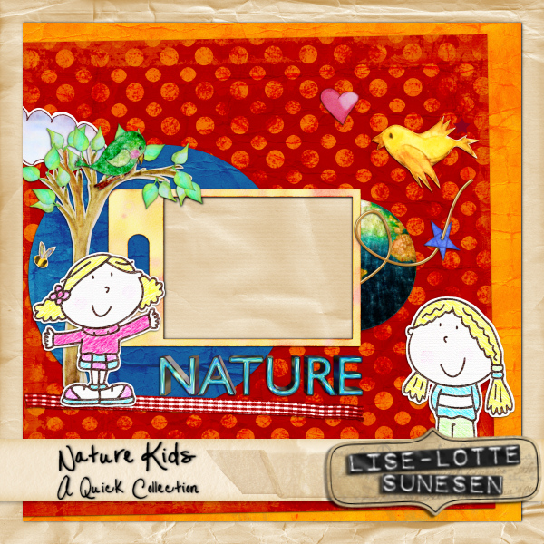 Nature Kids - Quick Pages
