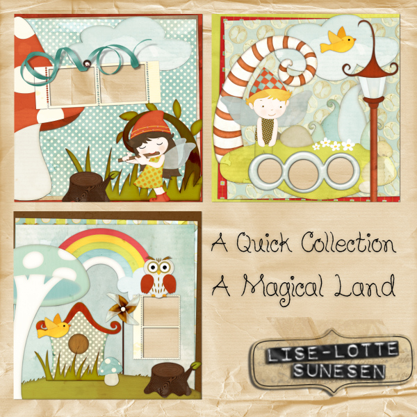 A Magical Land - Quick Pages