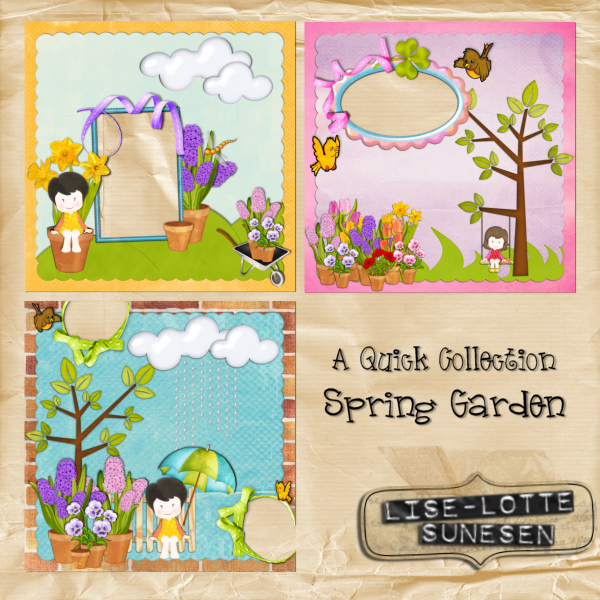 Spring Garden - Quick Pages - Click Image to Close