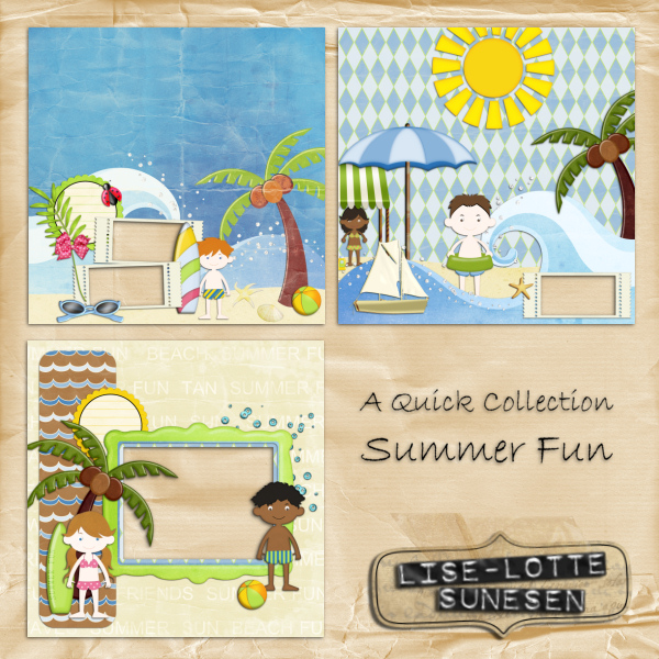 Summer Fun - Quick Pages
