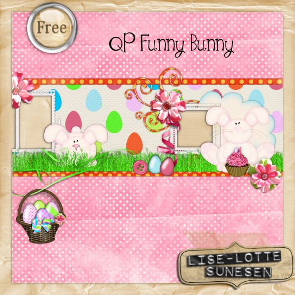 Funny Bunny - Quick Page - Free Gift