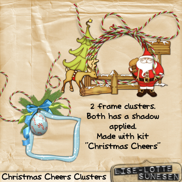Christmas Cheers - Clusters