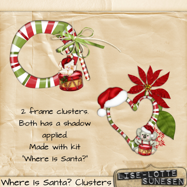 Where Is Santa? - The Clusters