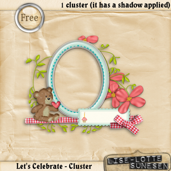 Let's Celebrate - The Cluster - Free Gift
