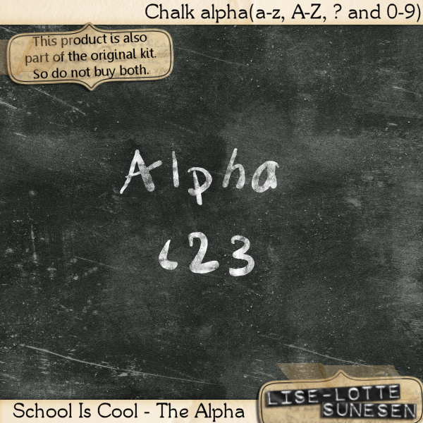 School Is Cool - The Alpha