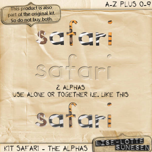 Safari - The Alphas