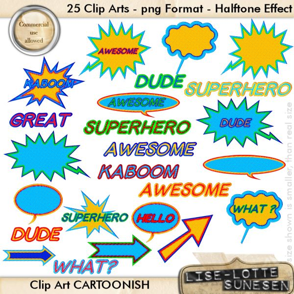 Cartoonish - Clip Art - CU OK