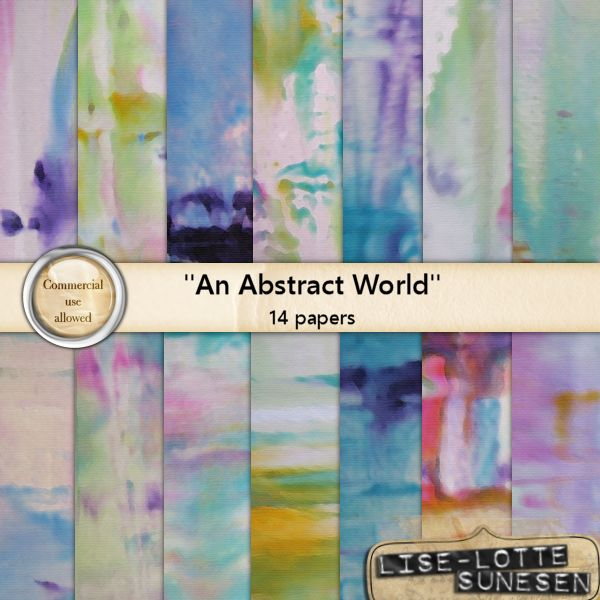 An Abstract World - Paper Pack - CU OK