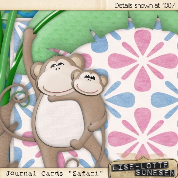 Safari - Journal Cards