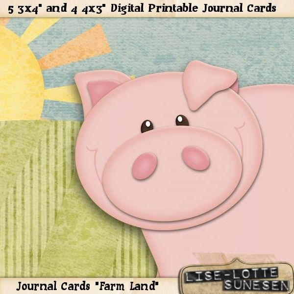 Farm Land - Journal Cards