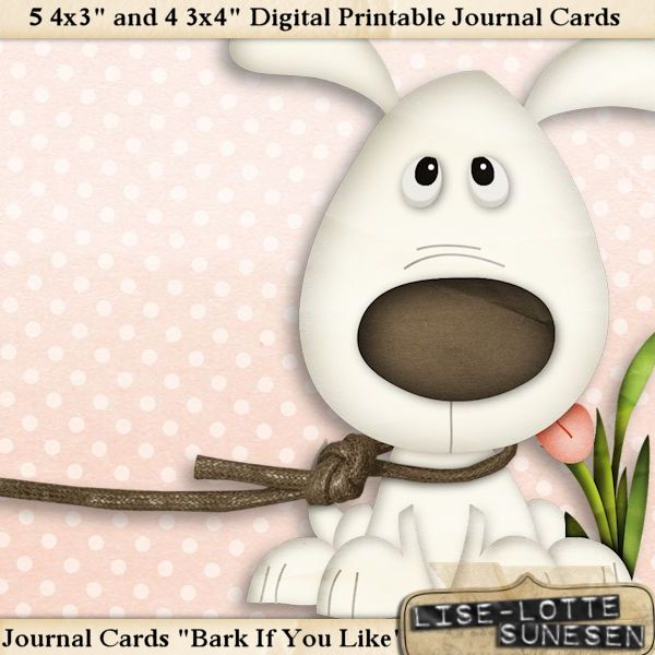 Bark If You Like - Journal Cards