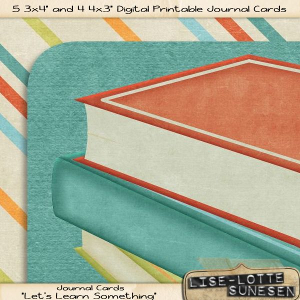 Let's Learn Something - Journal Cards - Click Image to Close