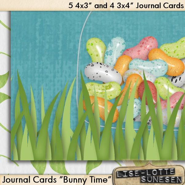 Bunny Time - Journal Cards - Click Image to Close