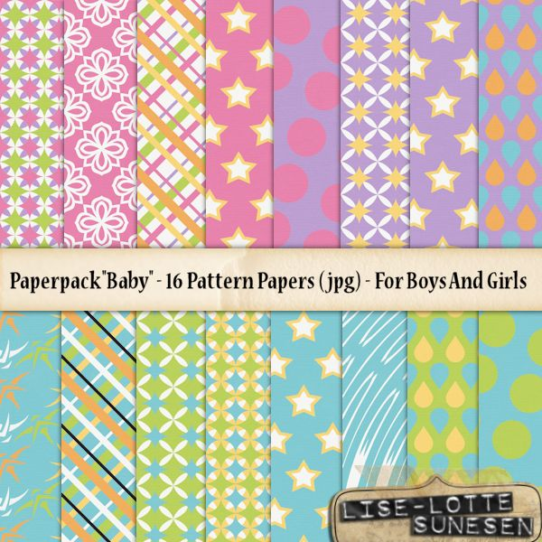 Baby - A Paper Pack