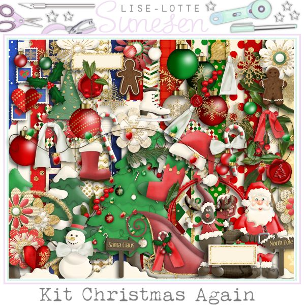 "Kit ""Christmas Again"""