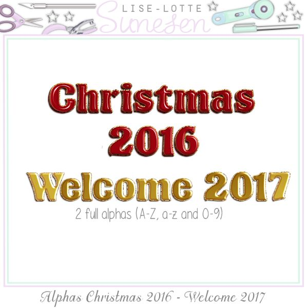 Christmas 2016 - Welcome 2017 (Alphas)